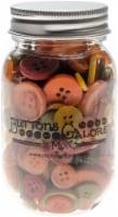 Buttons Galore Button Mason Jars-Harvest - 1