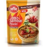 MTR Spicy Sambar Powder Extra Hot - 100 Gm (3.52 Oz) - 1 unit