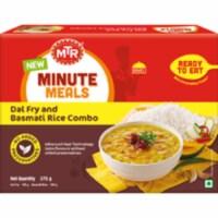 MTR Ready To Eat Dal Fry & Basmati Rice -  375 Gm (13.22 Oz) - 1 unit