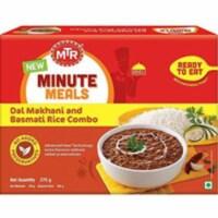 MTR Ready To Eat Dal Makhani & Basmati Rice - 375 Gm (13.22 Oz) - 1 unit