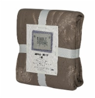 Denim Trading Post Needle & Pine Acid Wash Quilt Set - 3 Piece - Taupe - King