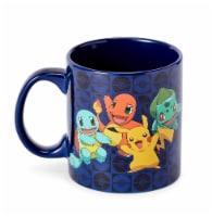 Pokémon Original Generation One Starters Coffee Mug | Features Pikachu & More - 1 Each