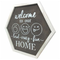 TX USA Corporation Wooden Welcome To Our Home Decorative Wall Art - 1 unit