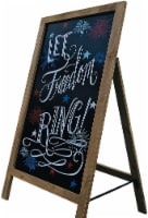Offex Modern Decorative Let Freedom Ring Easel - 32 H - 1 unit