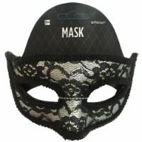 Amscan Lace Mask - Black