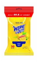 Wipe Out! Lemon Scent Anti Bacterial Wipes