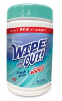 Wipe Out! Antibacterial Fresh Wipes 80 Count