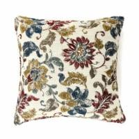 Florra Contemporary Pillow, Multicolor, Set of 2, Small - 1 unit