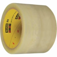 Scotch T9063536PK 3 in. x 55 yards Clear 353 Carton Sealing Tape - Pack of 6
