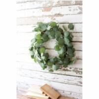 Artificial Eucalyptus Wreath - 18 D - 1