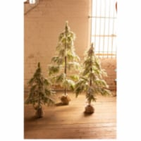 Artificial Frosted Christmas Tree - Large 31 D X 63 T - 1