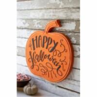 Happy Halloween Pumpkin 19  X 18.5 T - 1