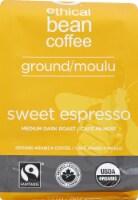 Ethical Bean Coffee Sweet Espresso Medium Dark Roast Ground Coffee