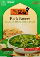 Kitchens of India Spinach with Cottage Cheese & Sauce