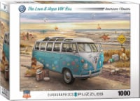 Eurographics The Love & Hope VW Bus by Greg Giordano 1000 Piece Jigsaw Puzzle - 1