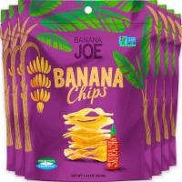 Banana Chips Sriracha (6 Packs) Gluten Free, Vegan, healthy chips for kids adults - 6 packs