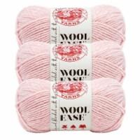 Lion Brand Yarn 620-104 Wool-Ease Yarn Skeins - Blush Heather