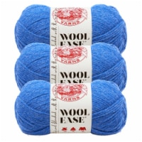 Lion Brand Yarn 620-107 Wool-Ease Yarn Skeins - Blue Heather