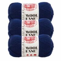 Lion Brand Yarn 620-111 Wool-Ease Yarn Skeins - Navy