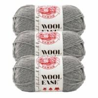Lion Brand Yarn 620-151 Wool-Ease Yarn Skeins - Gray Heather