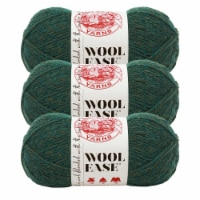 Lion Brand Yarn 620-180 Wool-Ease Yarn Skeins - Forest Green Heather