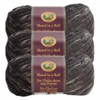Lion Brand Shawl in a Ball Yarn - Feng Shui Grey
