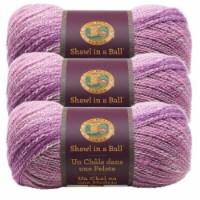 Lion Brand Shawl in a Ball Yarn - Lotus Blossom