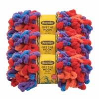 Lion Brand Crayola Off the Hook Motley Yarn