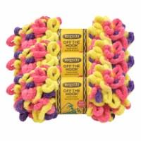 Lion Brand Crayola Off the Hook Yarn - Plush Berry