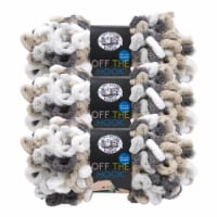 Lion Brand Off the Hook Yarn - Snowy Cosmo