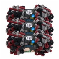 Lion Brand Off the Hook Yarn - Dark and Stormy