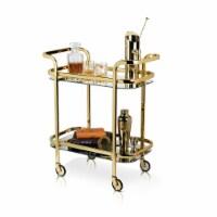 Viski 5891 Belmont Gold Bar Cart