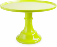 Cakewalk™ Oasis Melamine Cake Stand - Green