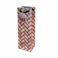 True Fabrications Wine Corks Wine Bag