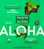 Aloha  Organic Protein Bar   Chocolate Mint