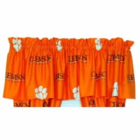 College Covers CLECVL Clemson Printed Curtain Valance- 84 x 15 - 1