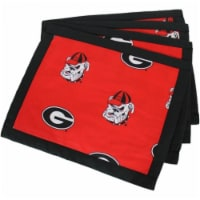 Comfy Feet GEOPLC Georgia Placemat with border - Set of 4