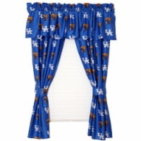 College Covers KENCP63 Kentucky Printed Curtain Panels 42 in. X 63 in. - 1
