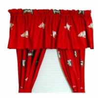College Covers ARKCP84 Arkansas Printed Curtain Panels 42 in. X 84 in. - 1