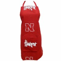 College Covers Nebraska Apron 26 in.X35 in. with 9 in. pocket