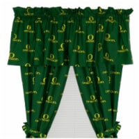 College Covers ORECP63 Oregon Printed Curtain Panels 42 in. X 63 in. - 1