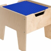 Contender C991300F-PB 2-N-1 Activity Table with Blue DUPLO Compatible Top - Assembled - 1