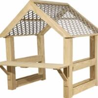 Wood Designs 991519 Outdoor Garden Center with Roof
