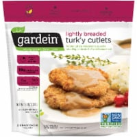 Gardein Lightly Breaded Meat-Free Turk'y Cutlet with Homestyle Gravy