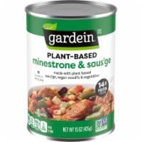 Gardein Plant-Based Saus'ge & Minestrone Vegan Soup - 15 oz