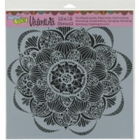 Crafter's Workshop Template 12 X12 -Gin Blossom - 1