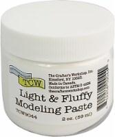 Crafter's Workshop Modeling Paste 2oz-Light & Fluffy - 1