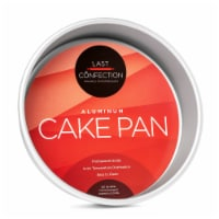 8  x 2  Round Aluminum Cake Pan by Last Confection - 1
