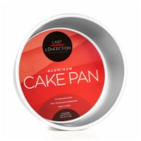 8  x 4  Round Aluminum Cake Pan by Last Confection - 1