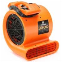 1/2 HP 2 Speed Air Mover & Carpet Dryer - Industrial Floor Fan - 1